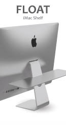 Float iMac Shelf